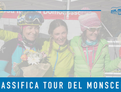 Classifica Tour del Monscera 2020
